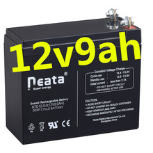 Neata Small 12 volt Rechargeable 12v 9ah 20hr lead acid battery for electric bike
