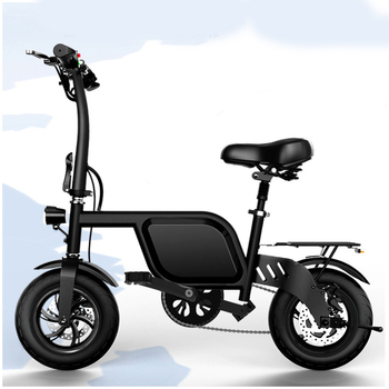 Newest design foldable electric mini bike 12inch shockproof electric bicycle