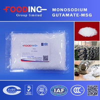Food seasoning China Manufacturer 99% Monosodium Glutamate Price MSG