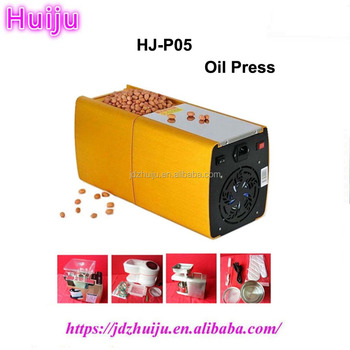 Stainless steel mini home use peanut oil press machine HJ-P05