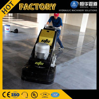4 Phase 12 Heads Stone Floor Grinder and Concrete floor grinder for polishing