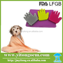 Fashion pet bath brush / silicone pet brush / silicon body brush