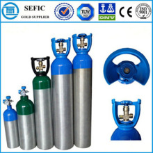 medical oxygen aluminum gas cylinder price seamless welding