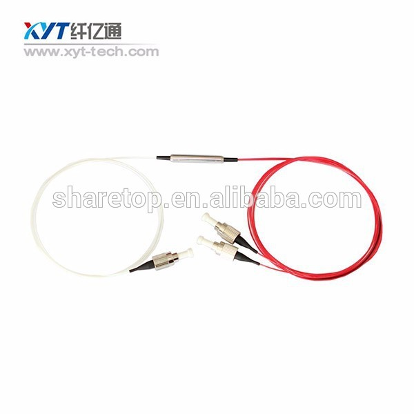 steel tube 3 port 1310nm or 1550nm optical circulator sc apc connector