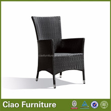 Outdoor restaurant furniture rattan dining chair