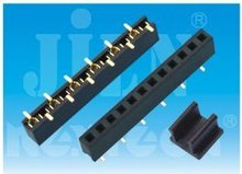 2.0mm female header smt auto connector pa66 with single row