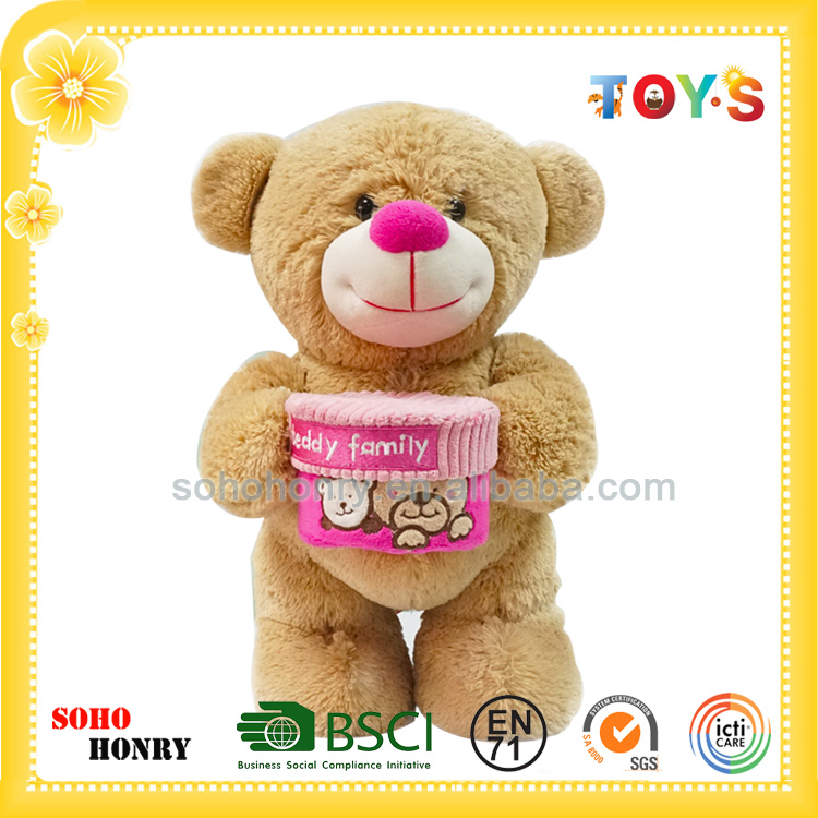 Hot Sale Cute Stuffed Animals with Teddy Bears for Baby