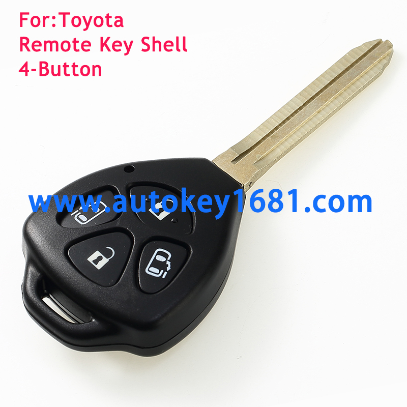 3button remote key shell for toyota camry key case