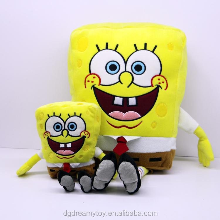Famous cartoon movie character Happy soft sponge baby toy