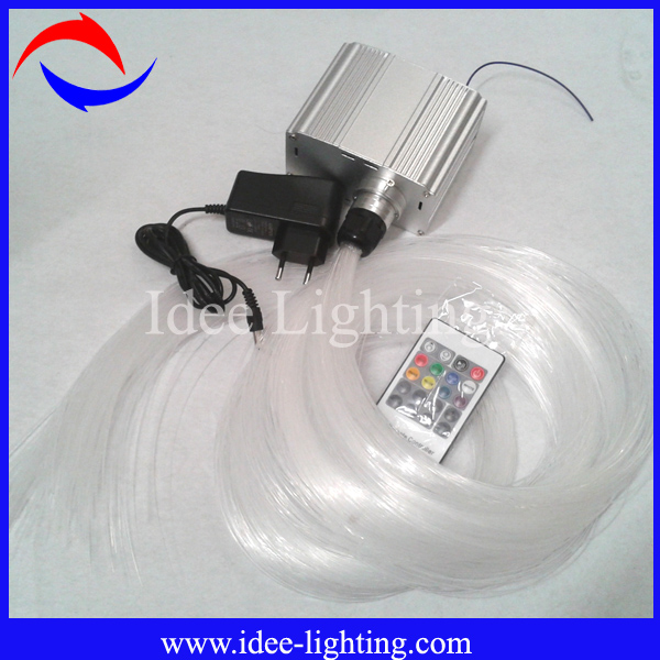 New 7w Led Fiber Optic Light Kit With Twinkle Wheel White Color Buy Led Fib