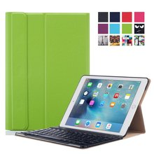 PU leather case cover for ipad pro 9.7 wireless keyboard case