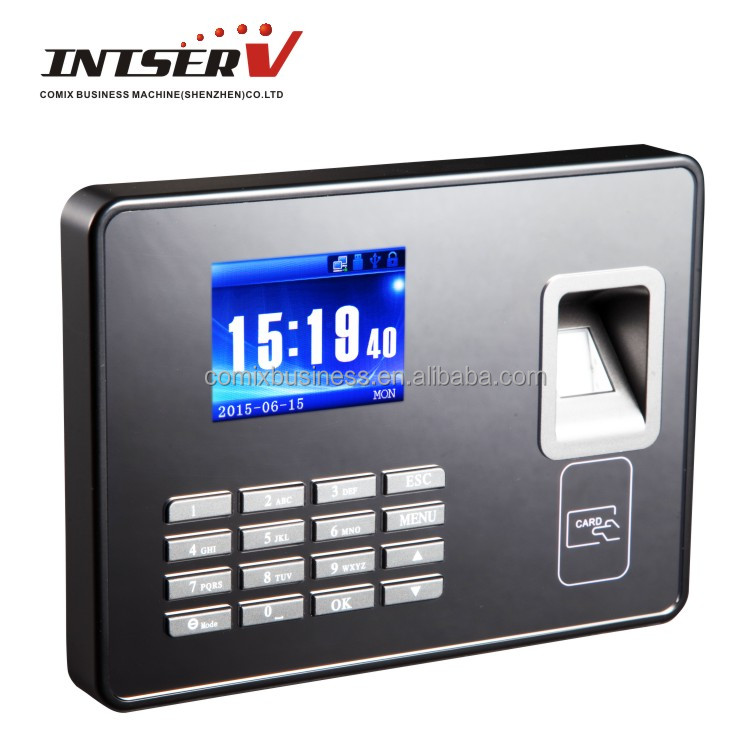 fingerprint time recorder attendance machine