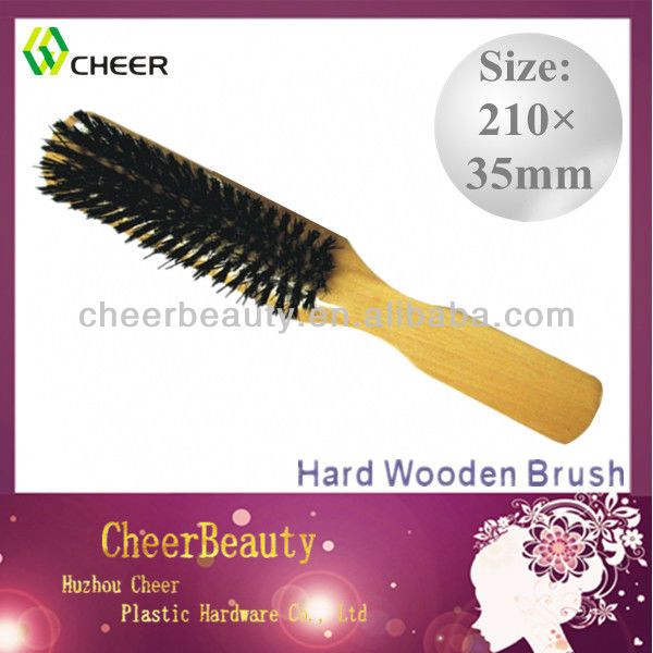 Wooden hair brushes HB025/hair brush wood /hair brush for black men