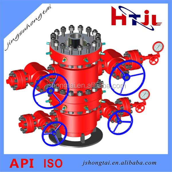 Oil Drilling and Producting System Wellhead Assembly API 6A Casing Head