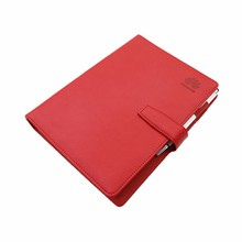 PU leather loose leaf leather journal diary notebook