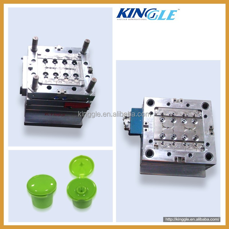 High Quality OEM plastic Injection Flip Top Cap Mould
