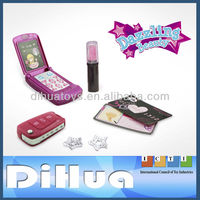 Girls Music Phone Toy with Make Up Set