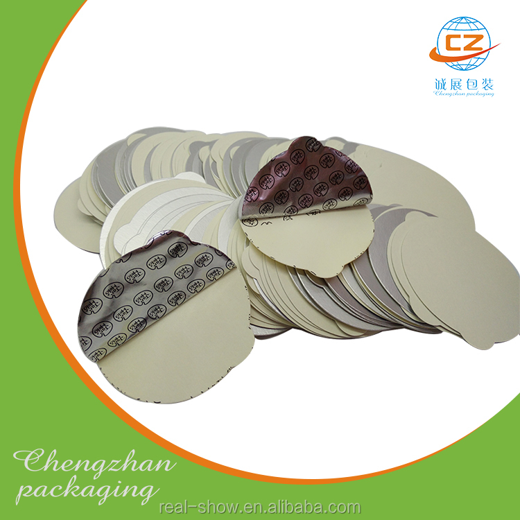 Easy-peelable vented induction seal liner aluminum foil for bottle cap