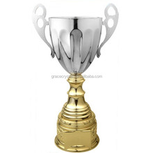 High grade silver trophy sports gifts silver plated trophy cups