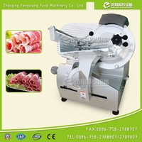 FQP-300C Frozen meat slicing machine of table model mutton slicer, beef piece cutting machine