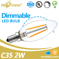 High Quality Competitive Price E12 Filament Lamp Led Bulb Dimmable for Residential from China Manufacturer