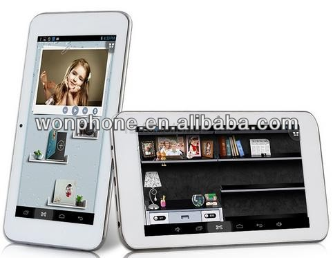 sanei tablet pc android tablets 6.5inch sanei N60 Allwinner A20 Duad core 512MB RAM 8GB ROM android 4.2 Webcam HDMI OTG