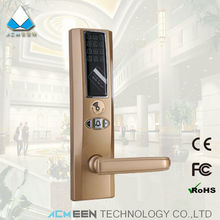 electronic rfid card intelligent residential pincode code number door lock