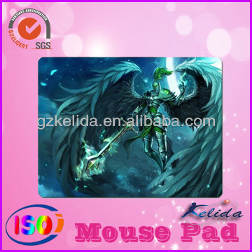 2014 stitch edge/round corner/ rectangle/ round/square game mouse pad and customize thickness LOL series
