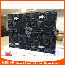Brilliance custom design taobao trade show display table covers