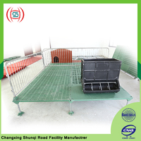 Poultry farming equipment for pigs