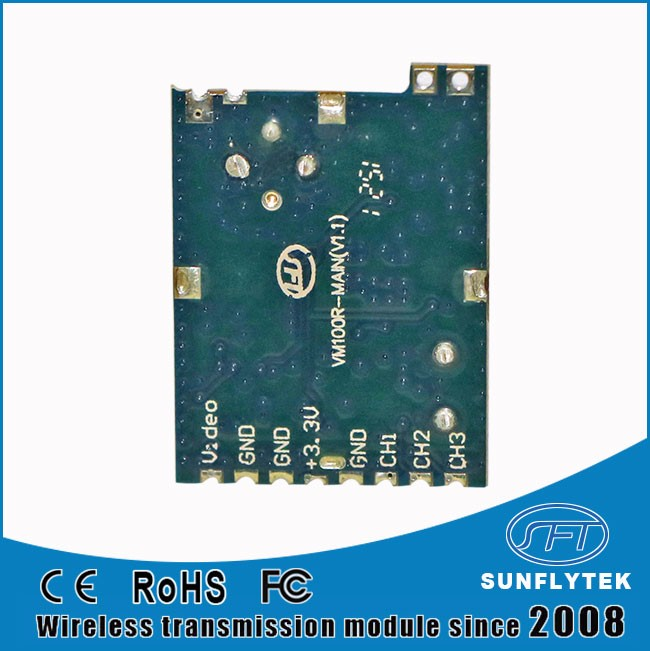 2.4GHz Wireless Transmission RF video receiver module