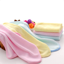 Alibaba China wholesale 100% Bamboo Small Face Towel Personalized, Plain Dyed Hand Towel