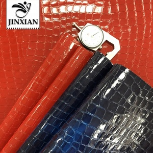 JX0061 Reflective PU leather High quality synthetic leather
