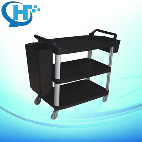 Multi-Functional 3 Levels Dining food service cart with wheels