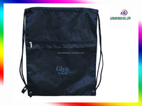 Custom Durable Polyster Drawstring bags school bags for college students