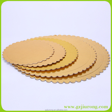 wholesale round colorful cake drum, Foil cake board