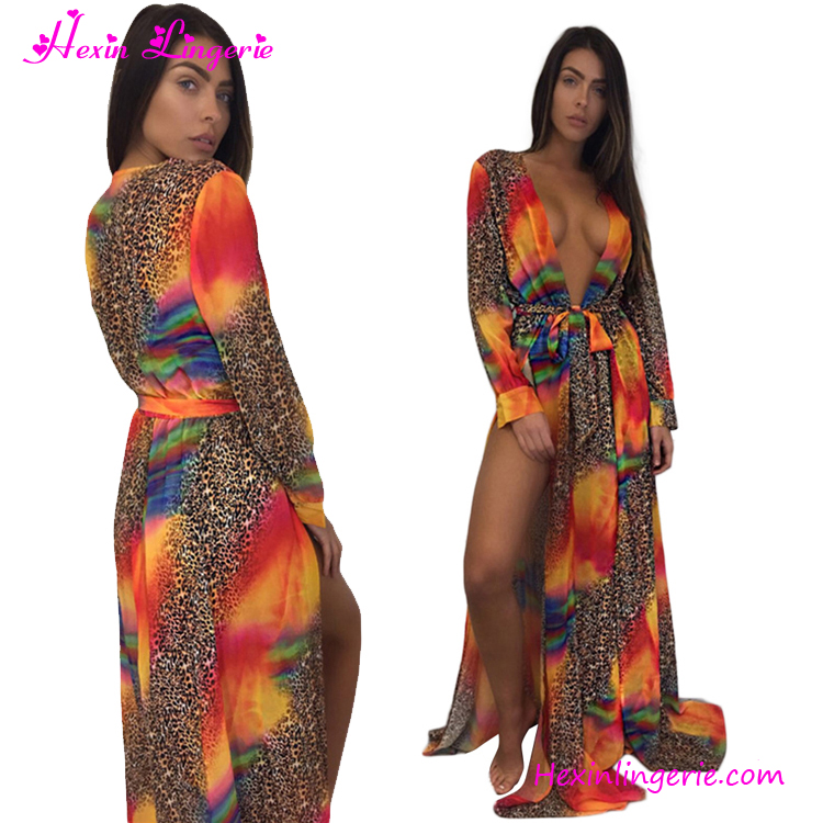 Summer Printed Cover Up Swimwear swim bathing suit cover up beach
