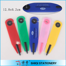 new promotional colorful bookmark ballpen with knife