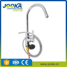 New model zinc pull out mixer kitchen taps by factory