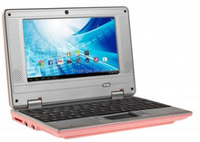 New 7 inch mini android laptop with android 4.4 OS, computerCE 7.0 support Flash10.1 DDR2 512MB 4GB HDD WIFI SD CARD