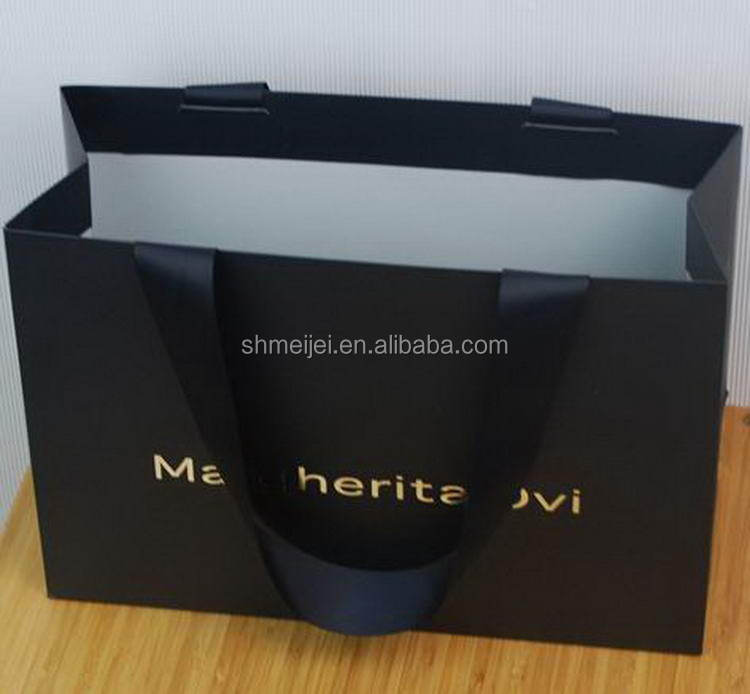 The Newest top sell customized large shopping paper bag