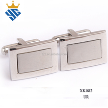 Custom Design Stainless Steel Cuff link Blanks for Cufflinks