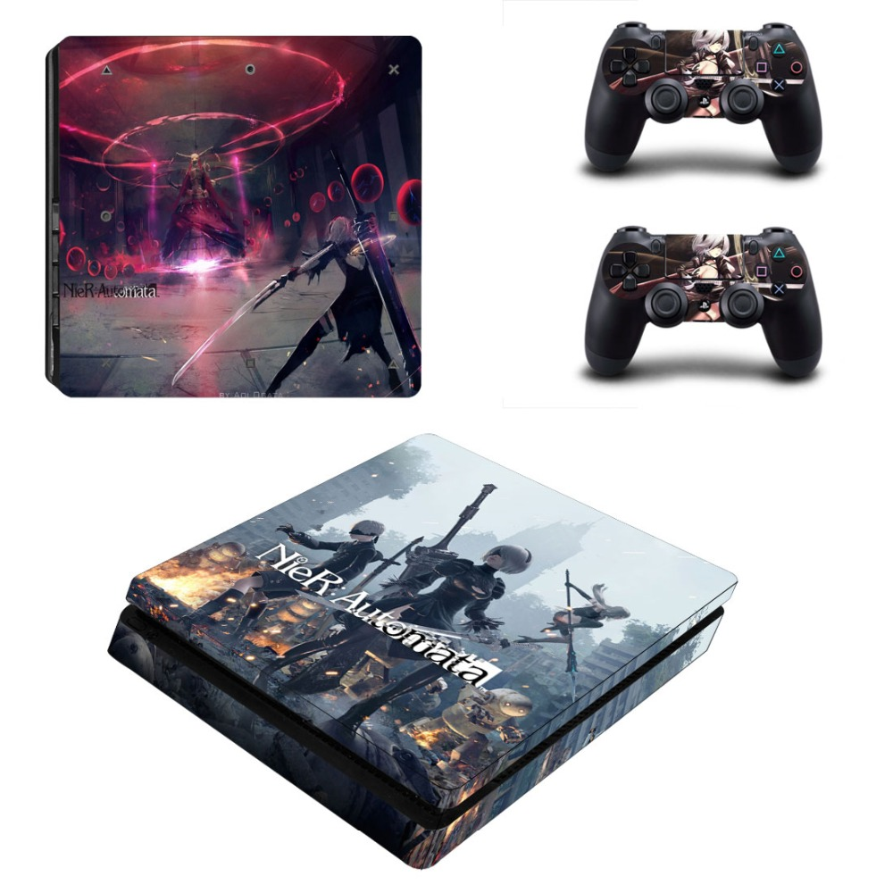 NieR: Automata Vinyl Design PS4 Slim Skin Sticker Cover Decal For ...