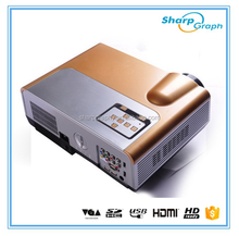 High Quality 2000 Lumens Native Resolution1280x800 LED Short Throw LX580 Projector