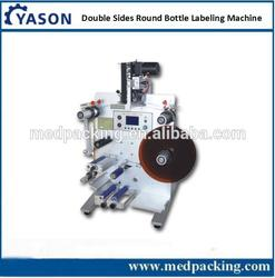 Double Side Labeling And Coding Machine For Round Object