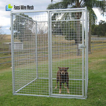 Outdoor Dog Kennel House Cover Roof Pen Cage Crate Backyard 10X10 ft