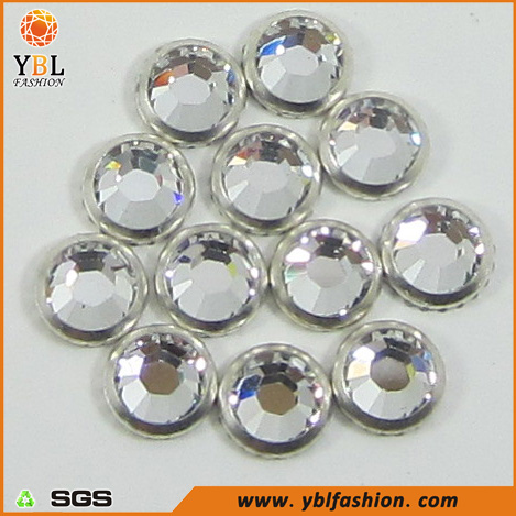Flat Back Korean Grade Mc Loose Hot Fix Iron On Rhinestones