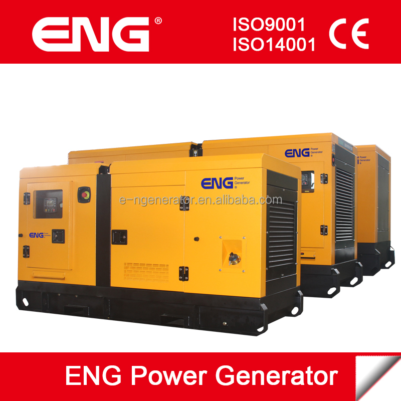 type silent 40kva power generator with Cummins diesel engine 4BT3.9-G1