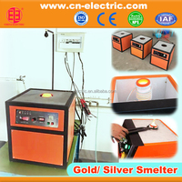 7Kw gold melting induction furnace
