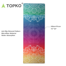TOPKO Hot Selling Private Label Absorbent Microfiber Yoga Towel